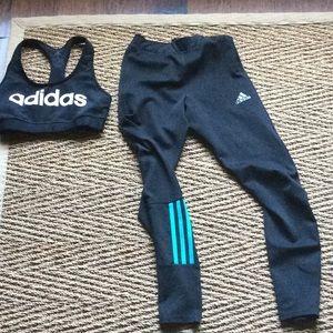 Brand new w/o tags Adidas set both size small